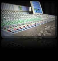 mixing engineer console